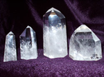 Crystal Quartz Standing points AAA 2-3 inch