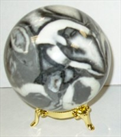 Shell Fossil sphere 103mm 4inch